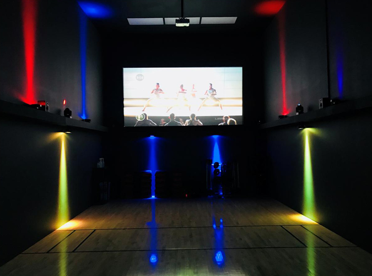 Les Mills Fitness Theater