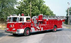 Old Ladder Truck