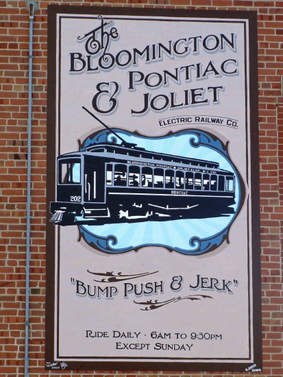 Interurban Railroad Mural