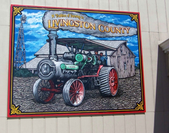 Tradition of Farming Mural