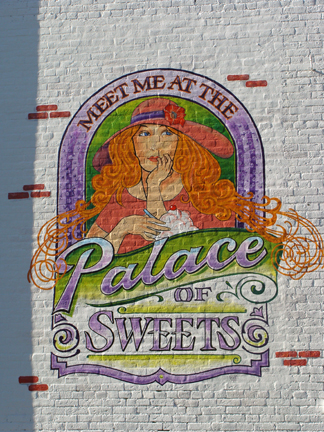 Palace of Sweets Mural